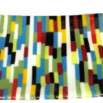 "Platter of variety of colors. Item number 41: 7 1/2"" x 15"""